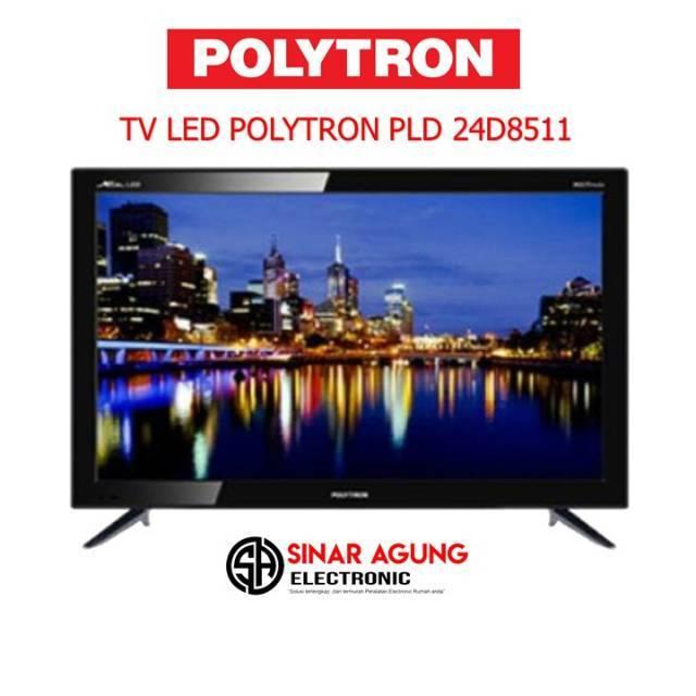 4bb2e975514055 (HARGA PROMO) LED TV POLYTRON 24D9501 USB MOVIE 24 INCH (GARANSI RESMI)    Shopee Indonesia