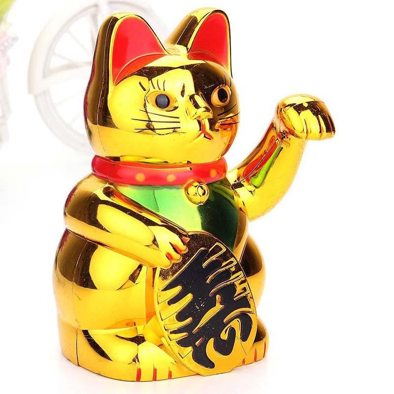 Mainan Kucing Keberuntungan Cina Keberuntungan Shopee Indonesia