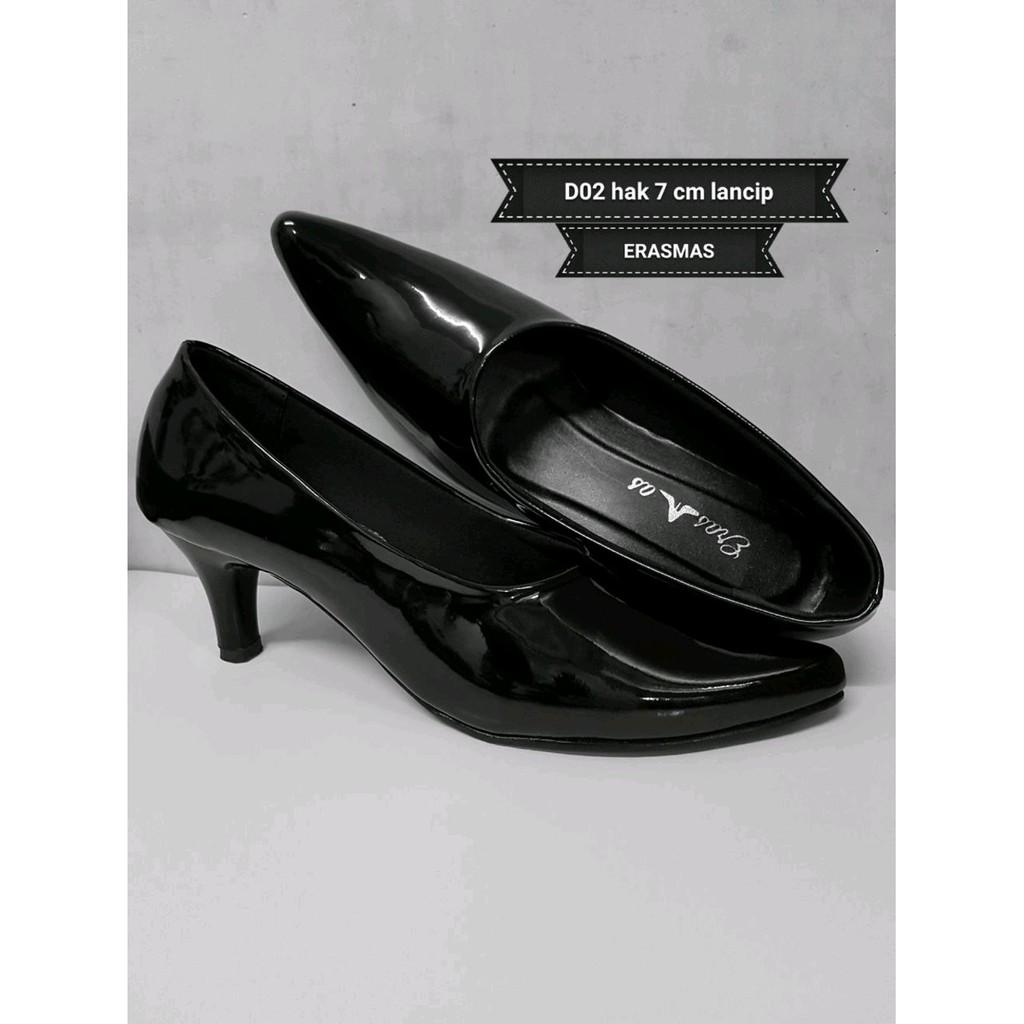 Promo Sepatu Pantofel Formal Wanita Bertali Paskibra Limited Amazara Kendall Black Heels Hitam 39 Shopee Indonesia