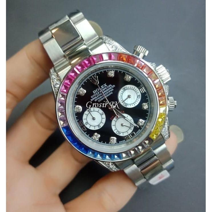 Jam Tangan Rolex Pria Jam Rolex Cowok Kw Super Premium Grade