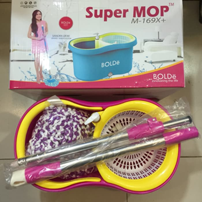 Super Mop BOLDE M-169X+ Alat Pel M169X+ Plus Supermop Termurah Bolde Terkenal Sandra Dewi 4.140gr | Shopee Indonesia