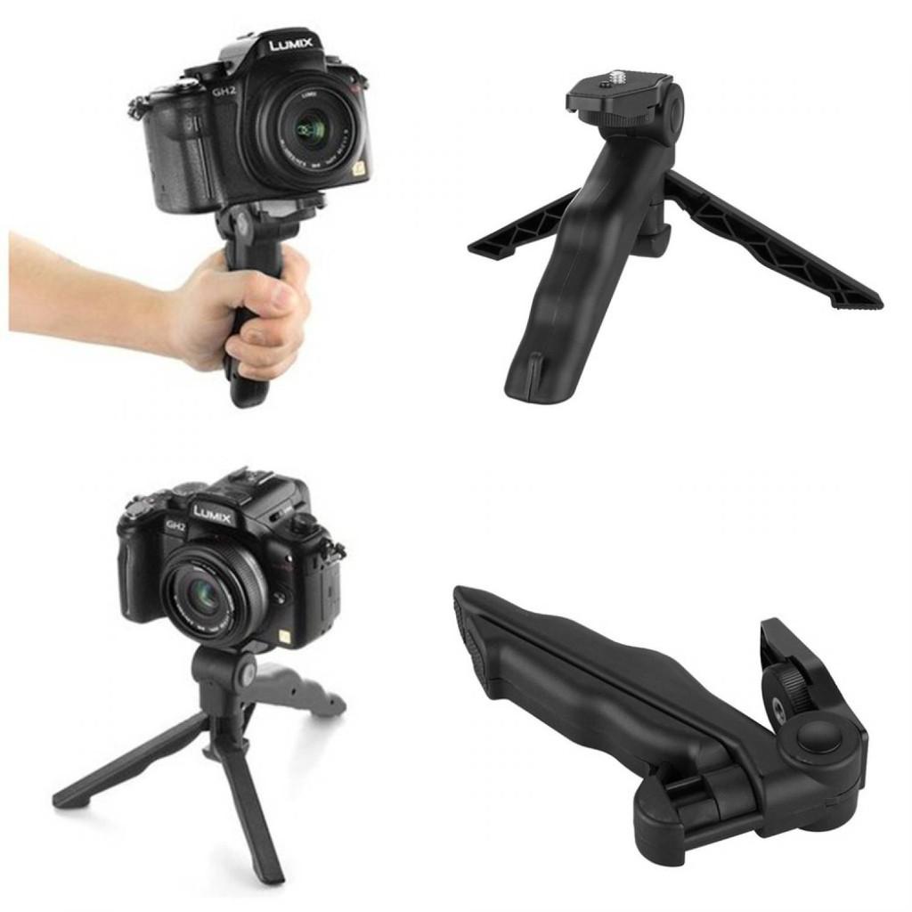 Tripod Tongsis Mini Foldable 2 In 1 Untuk Dslr Action Camera Metal Lid Pov Extendable Pole Monopod 49 Cm For Gopro Xiaomi Yi Blue Smartphone Shopee Indonesia