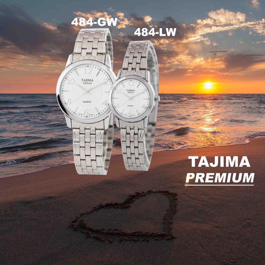 Jam Tangan Tajima Premium Pria Wanita 554 Original Garansi 1 Tahun Analog Watch 3813 Date Ampamp Shopee Indonesia
