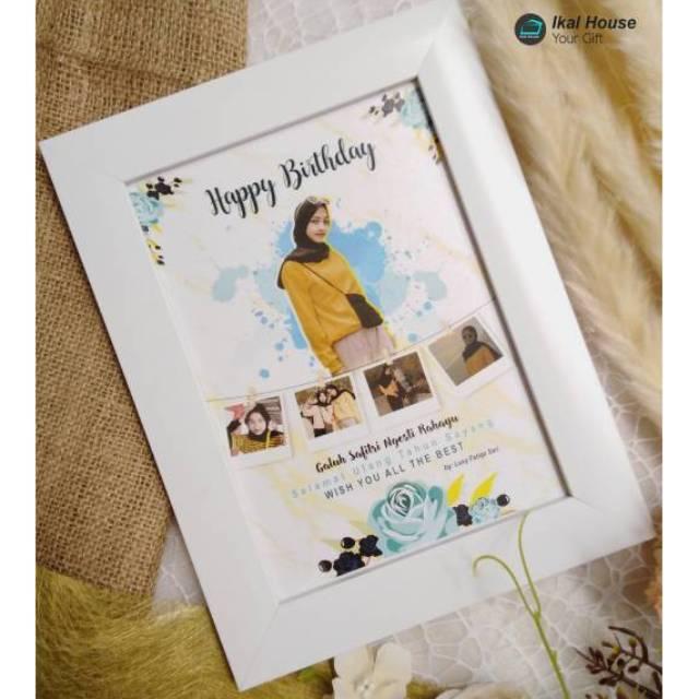desain foto ilustrasi kado wisuda ulang tahun pernikahan edit foto plus bingkai shopee indonesia desain foto ilustrasi kado wisuda ulang tahun pernikahan edit foto plus bingkai