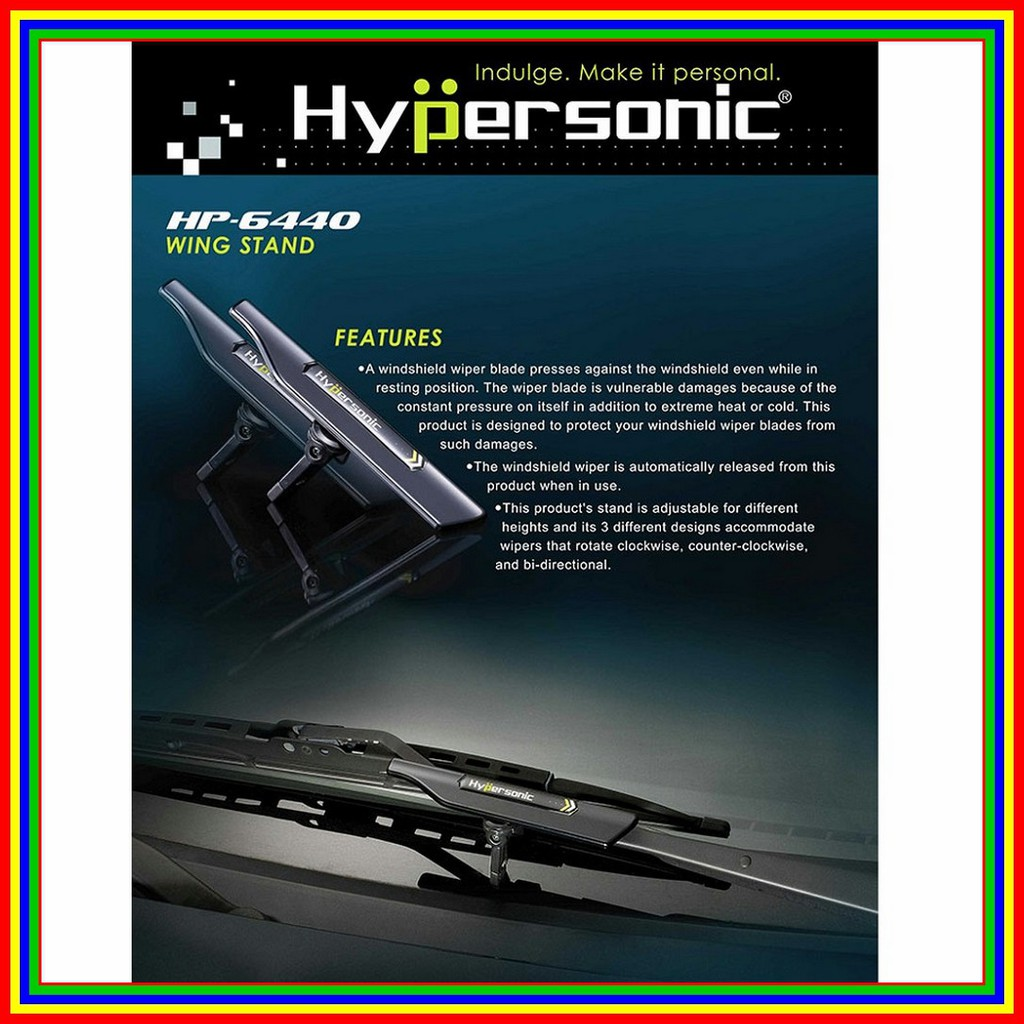 Automatic Hypersonic Wiper Stand HP6440 Wing Stang Pelindung Karet | Shopee Indonesia