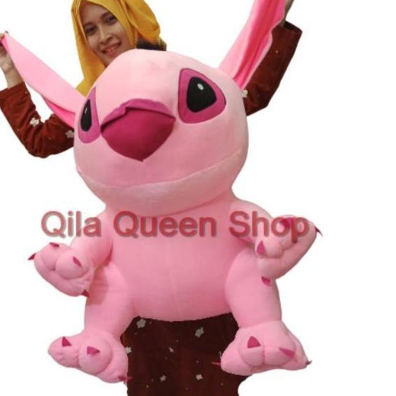 Ready Termurah Boneka Stitch Giant Murah Biru Dan Pink Shopee Indonesia