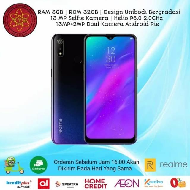 Realme 3 3/32GB Garansi Resmi by OPPO