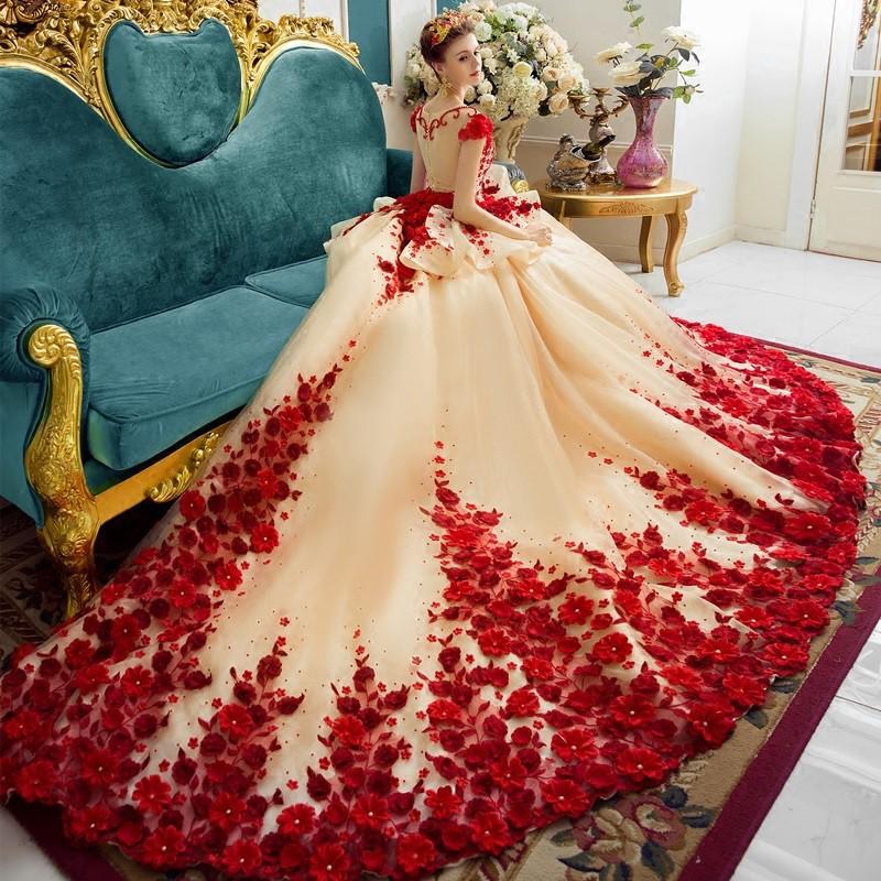 Pengantin Gaun Merah Serba Pengantin