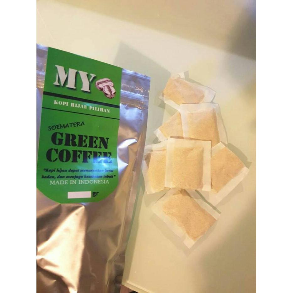 Promo My Green Coffee Kopi Hijau Diet Sachet Tea Bag Isi 30 Pcs Siap Minum Shopee Indonesia