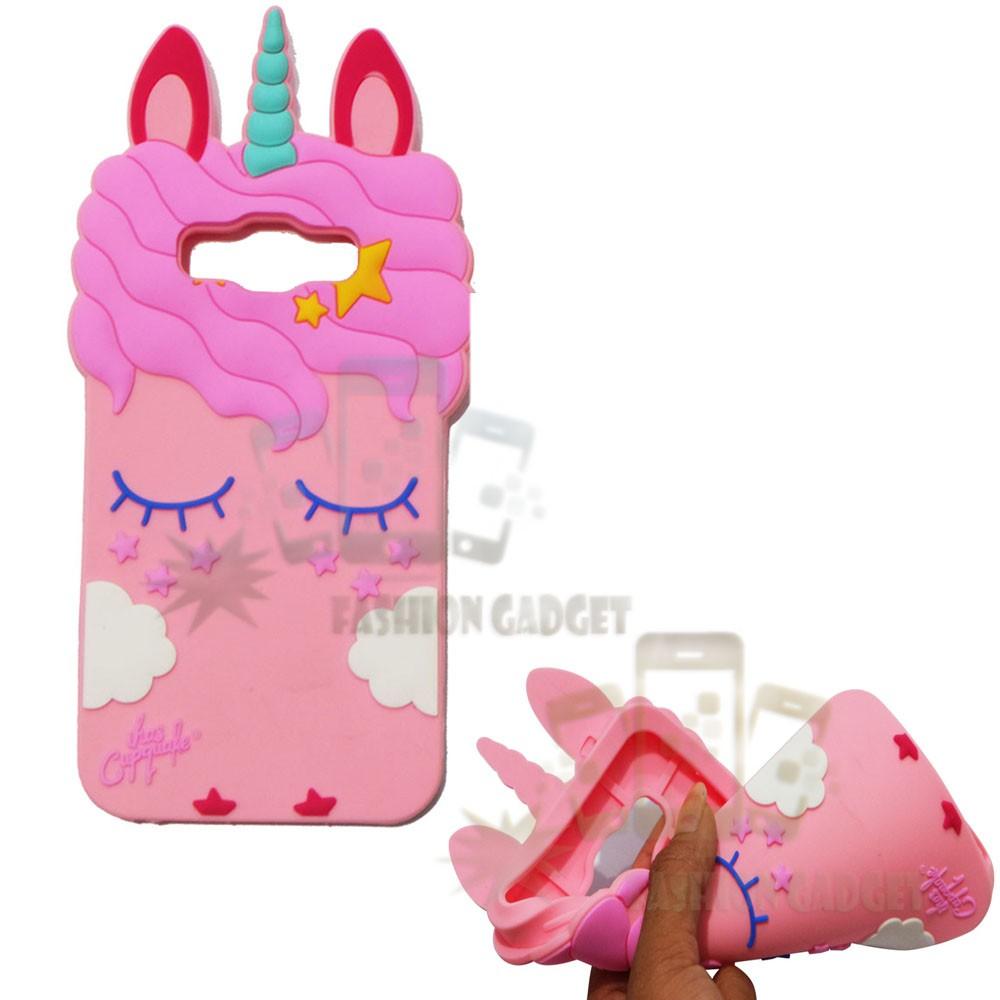 Case Silicone 3D Samsung Galaxy J2 Prime Karakter Lucu Unicorn Sleep Softcase / Casing 4D Kuda Poni | Shopee Indonesia