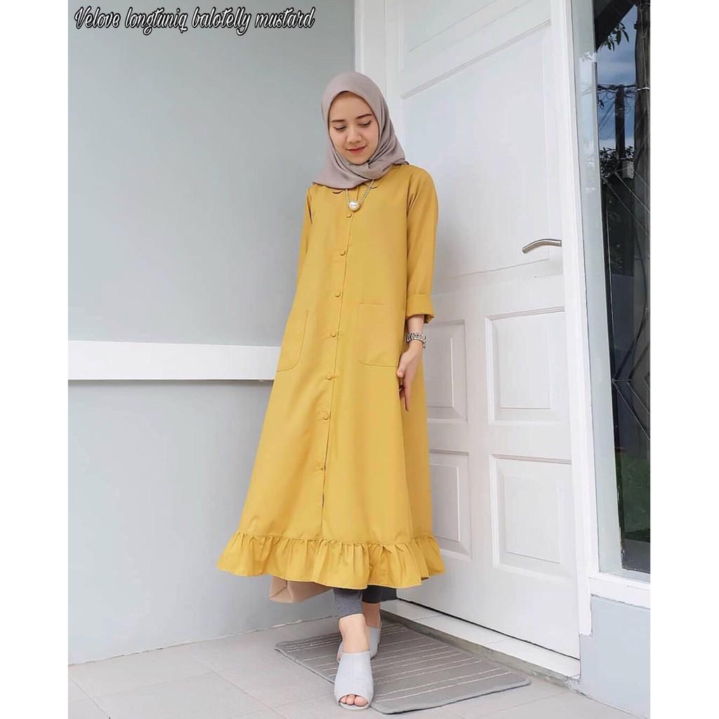 Dress Wanita Brukat Erlin   Dress murah   Pakaian wanita   kekinian ... b1b4ebc8ac