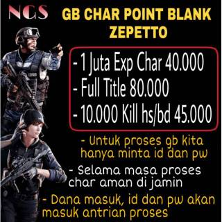 Char Point Blank Zepetto / PB / Point Blank / Beyond Limit (TERMURAH