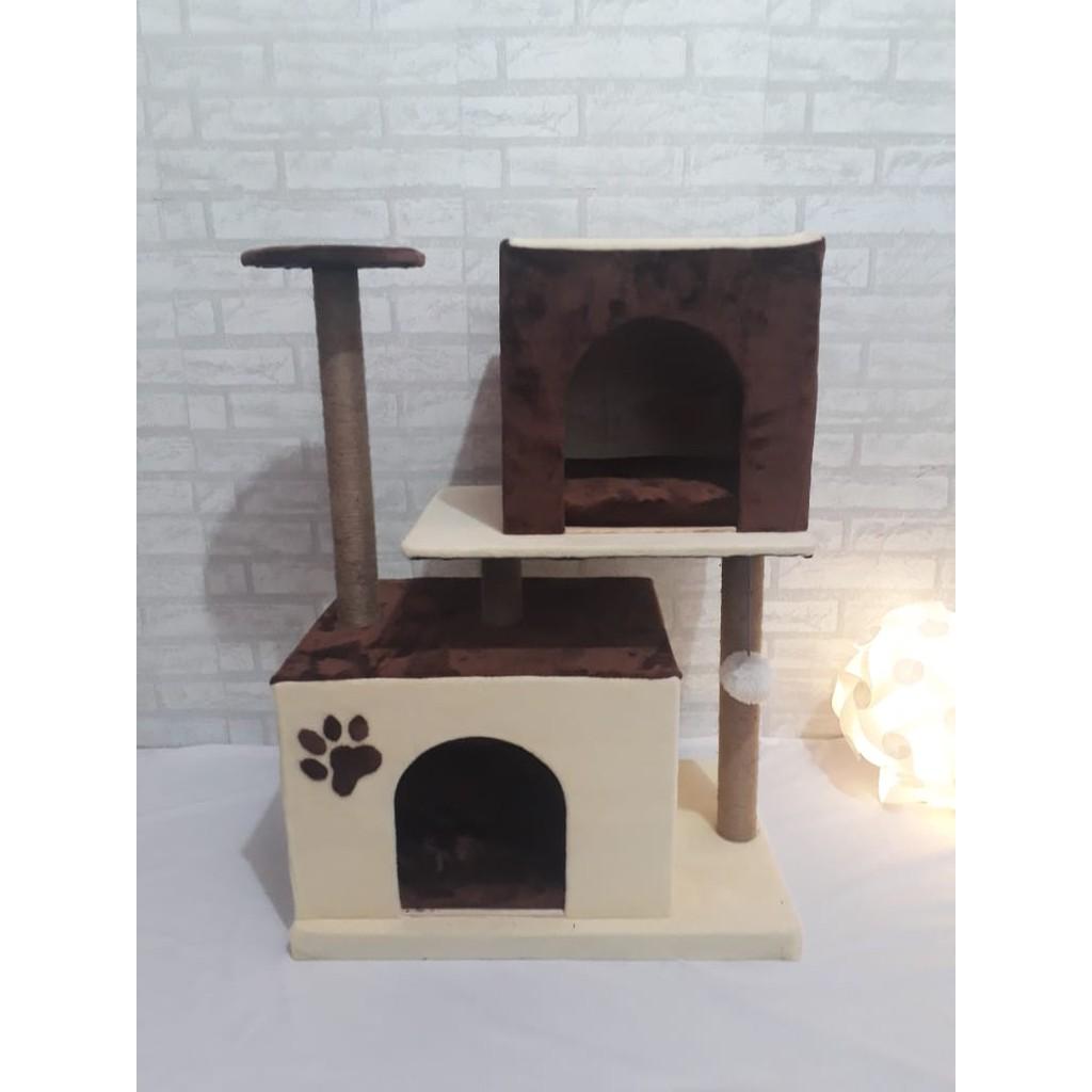 Cat Tree / Cat Toys / Kandang Kucing / Catcondo / Rumah ...