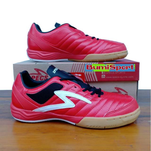 Sepatu Futsal Specs Metasala Showtime 19 In Emperor Red White