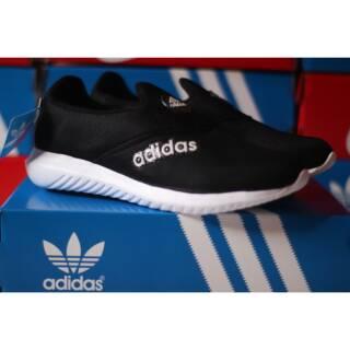 Sepatu Adidas Slip On Hitam Sepatu Tanpa Tali Shopee Indonesia
