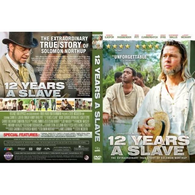 Dvd 12 Years A Slave 2013 Brad Pitt Shopee Indonesia