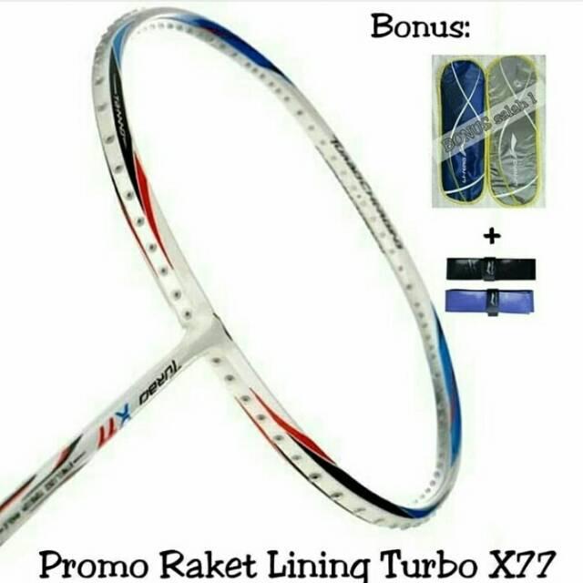 RAKET BADMINTON LINING TURBO X 77 ORIGINAL BULUTANGKIS HARGA PROMO SURABAYA ADHA SPORT   Shopee Indonesia