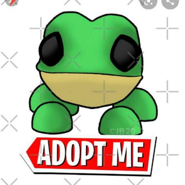 Adopt Me Pet Frog Roblox Free Ongkir Shopee Indonesia