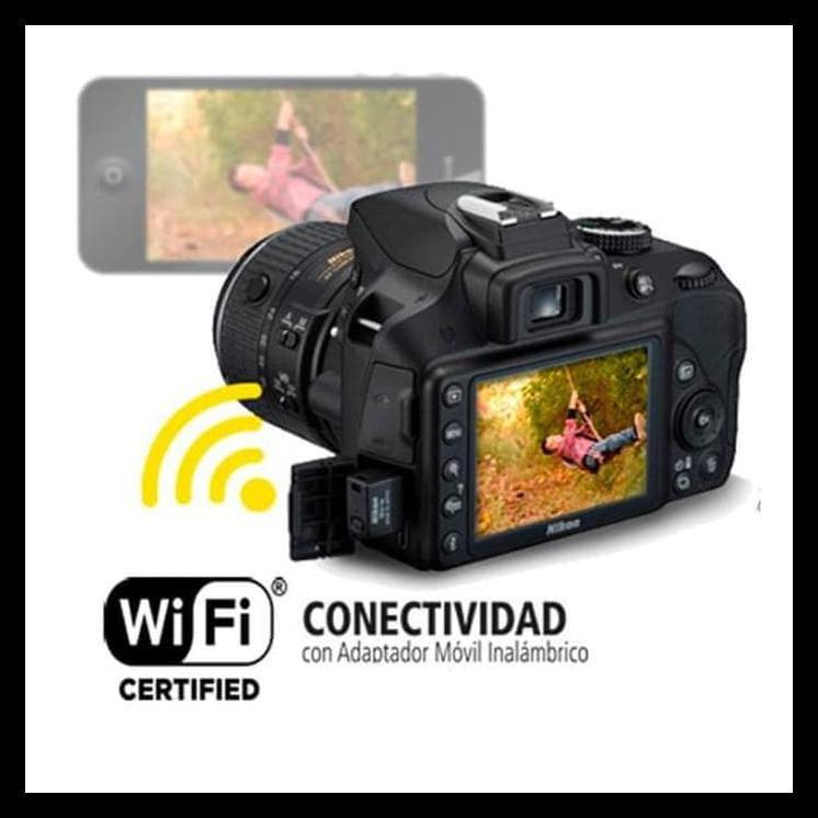 Original Nikon Wu-1a Wi-fi Adaptador Móvil Inalámbrico D3300 D5200 D7100 P7800 Df