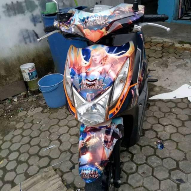 Full Sticker Mobile Legend Motor Beat Karbu Fi Street Full Keren Shopee Indonesia