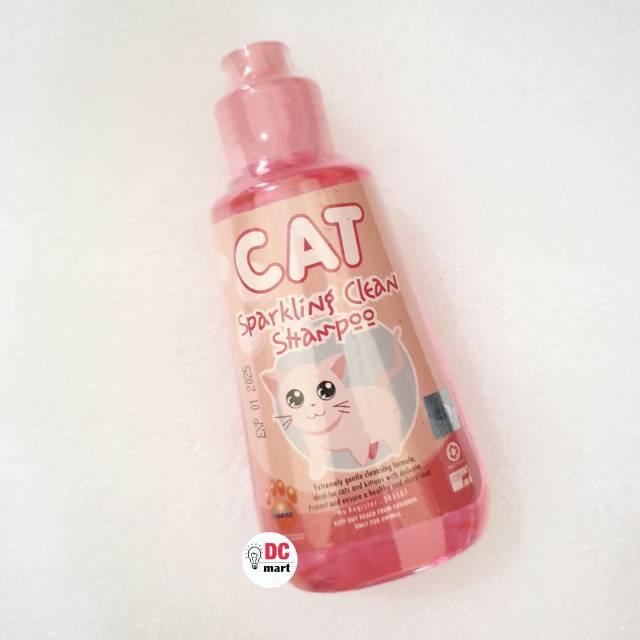 SPARKLING CLEAN CAT Shampo Hewan 150mL / Shampoo anjing kucing musang kelinci RAID ALL-2