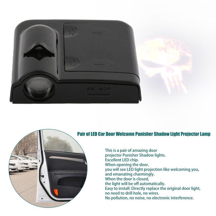 Lampu Rem LED Warna Putih untuk Mobil .