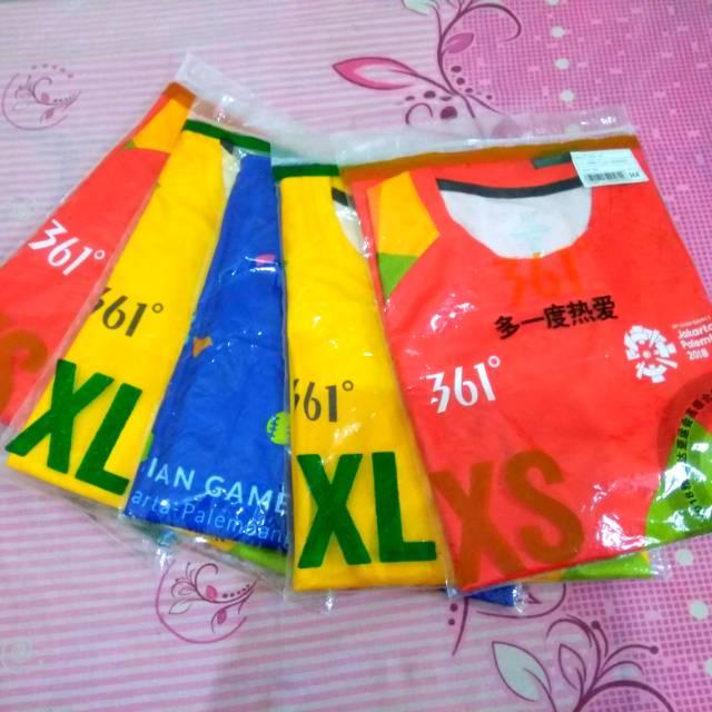 Kaos Volunteer Asian Games Kuning