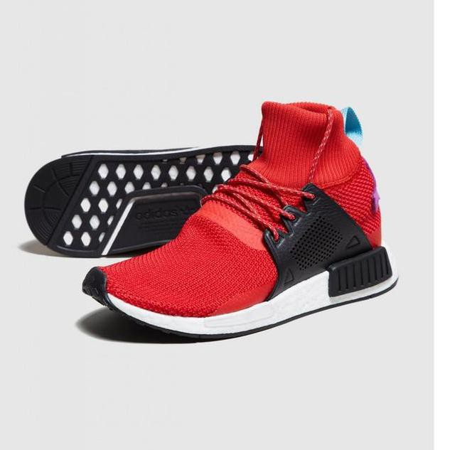 NEW ARRIVAL!!! ADIDAS NMD XR1 Winter RED Unauthorized Original UA KFD377