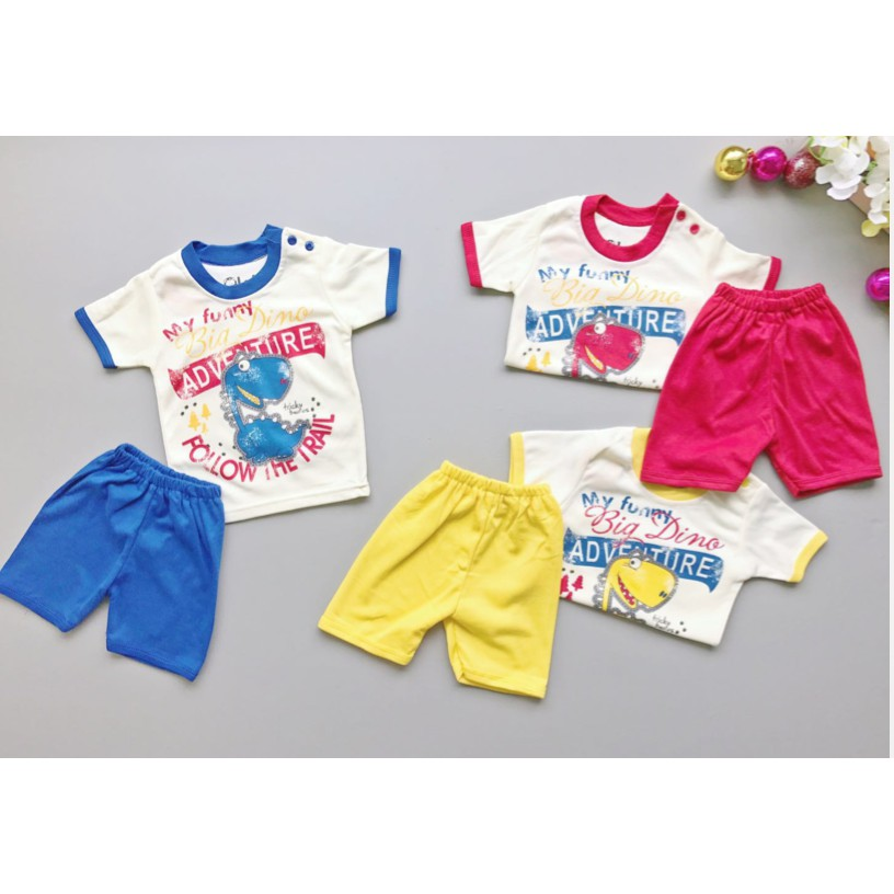 Kaos Lengan Pendek Tee 5 In 1 Kancing Pundak Baju Baby Cowok Umur 6 Source ·