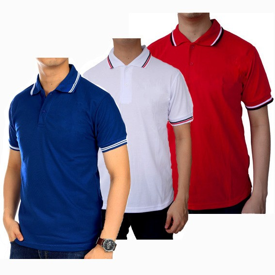 Kaos kerah Polo shirt cowok pria 7d5e6ed20d
