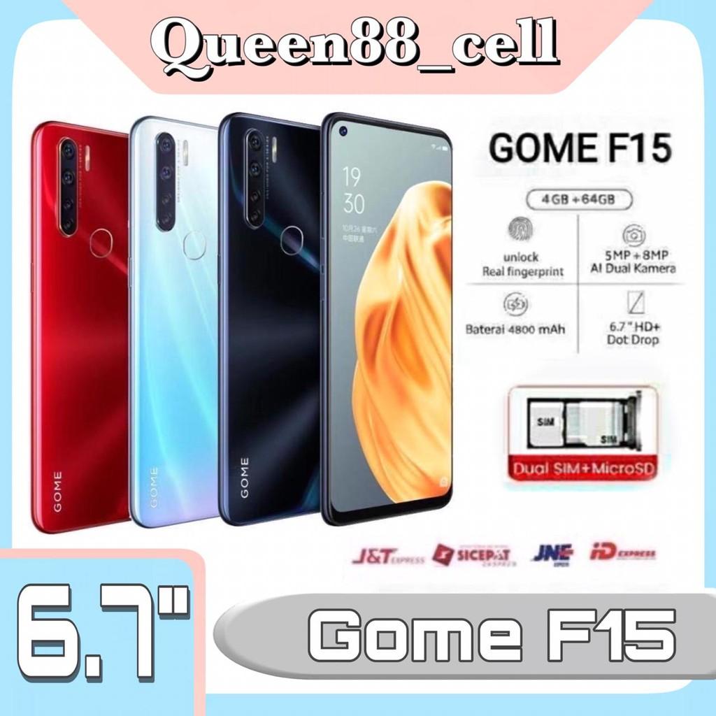 HP Android Gome F15 | RAM 4GB & ROM 64GB Jaringan 4G
