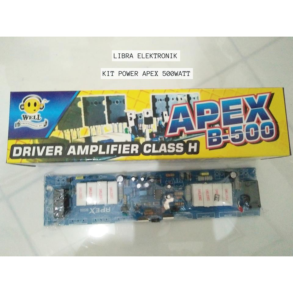 Kit Driver Power Apex B500 Well Shopee Indonesia Low Cost 221520 Watt Stereo Amplifier By Tda2005