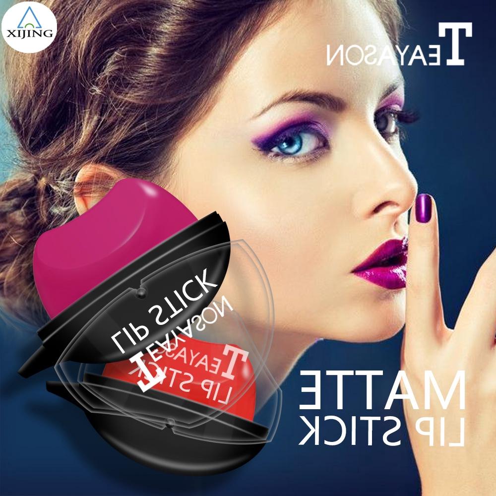 [XIJING-COD] 12 Warna Creative Lazy Easy Makeup Cosmetic Lipstick / Long Lasting