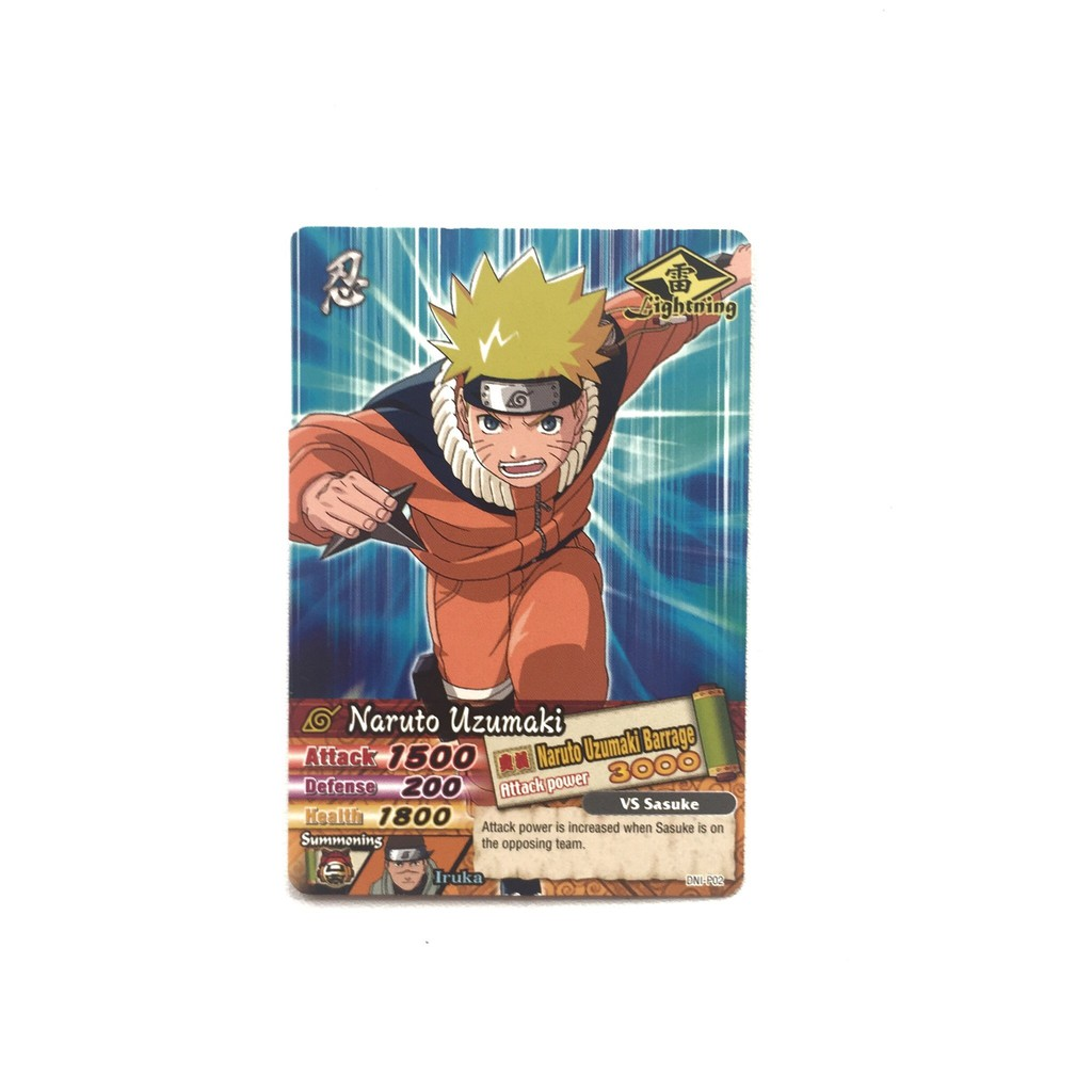 Kartu Naruto Narutimate Ninja Fight