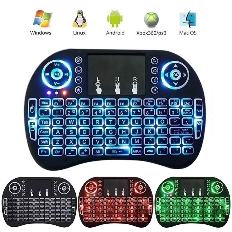 Bayar Di Tempat I8 Keyboard Mini Wireless 2 4ghz Dengan Touchpad