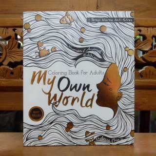 Buku Mewarnai Dewasa Coloring Book Coloringbook For Adults