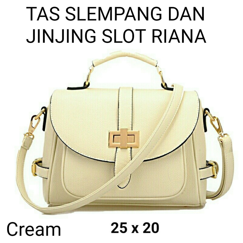 Tas slempang wanita terbaru slot riana termurah / tas lokal brand terbaik / tas taiga lokal bandung | Shopee Indonesia