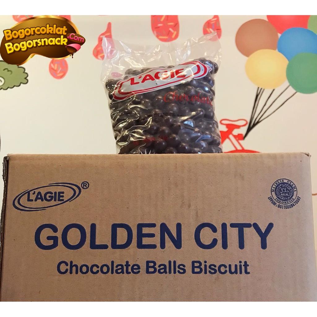 Coklat Lagie Chocoball Kartonan 6kg