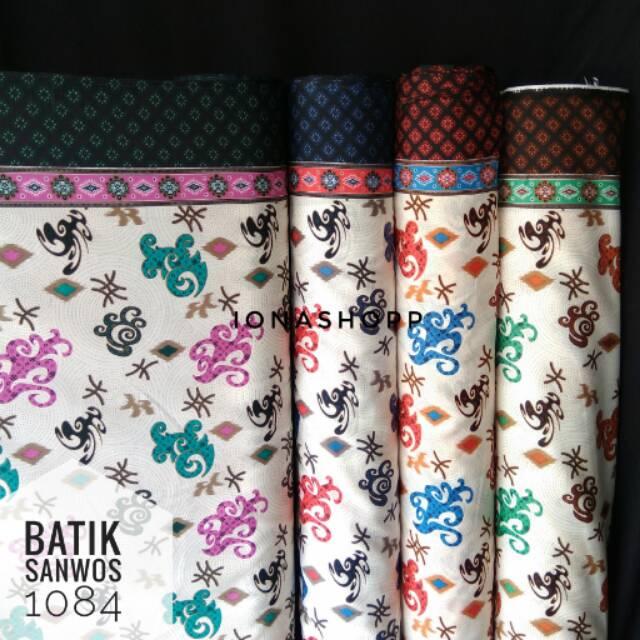 Kain batik sanwos 1084 / batik meteran / batik murah