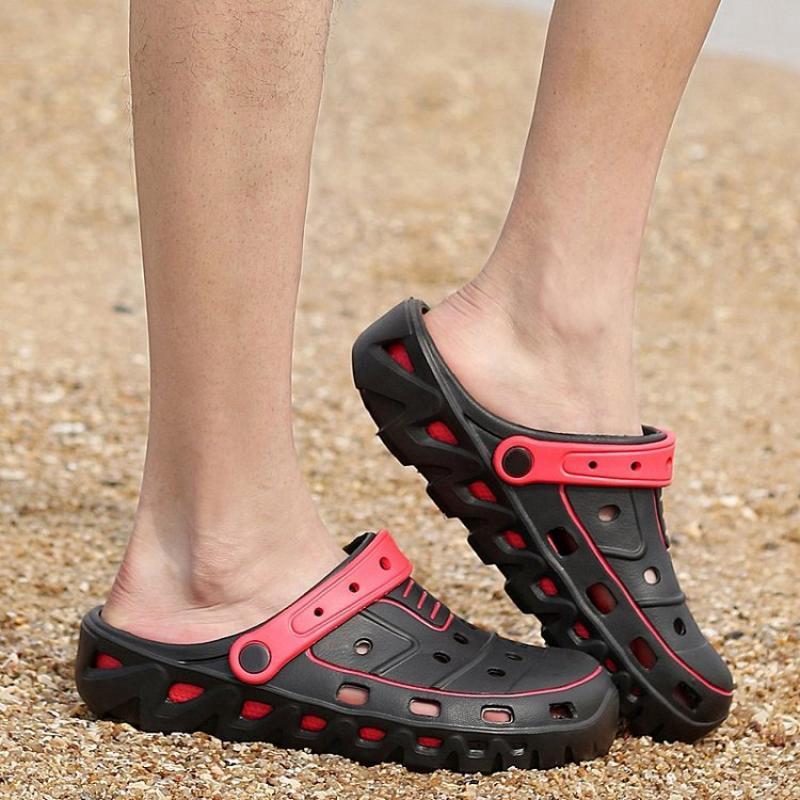 Musim Panas Fashion Pria Sepatu Sandal Sandal Sandal Sepatu Pria