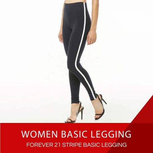Beli 3 45k Celana Legging Wanita Katun Garis Bawahan Legging 9 Warna Shopee Indonesia
