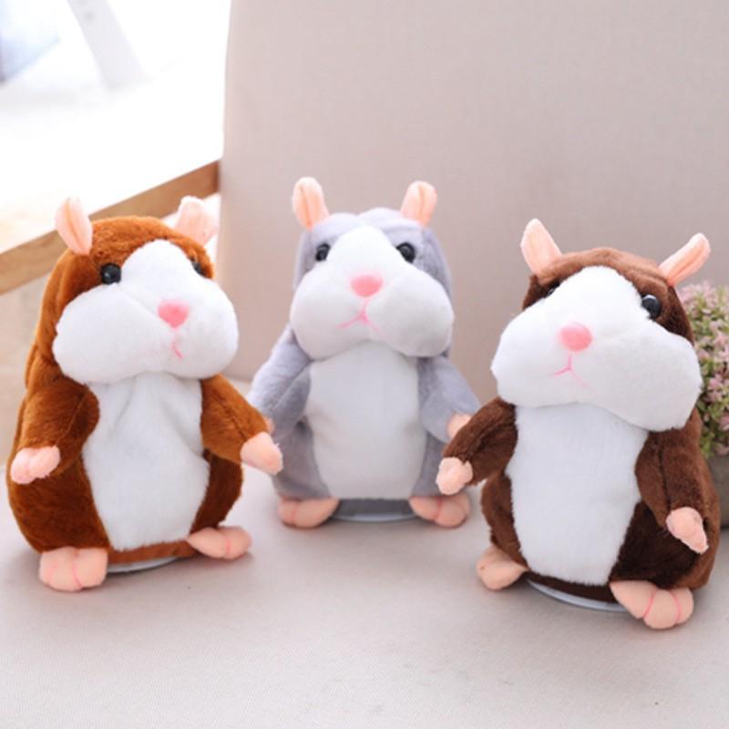 Talking Hamster Mainan Boneka Hamster Bisa Bicara Dan Bergerak Lucu Shopee Indonesia