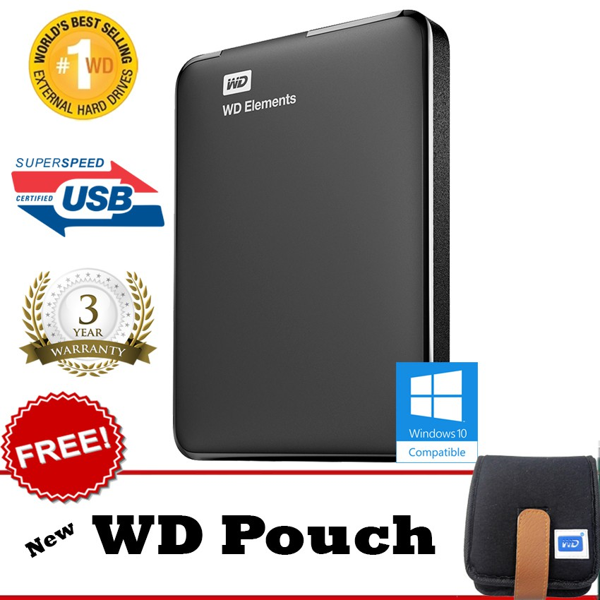 "HGST Hitachi Touro 2TB New Portable USB3.0 - HDD / Hard Disk External 2.5""+Go Green Bag+Pouch+Pen 