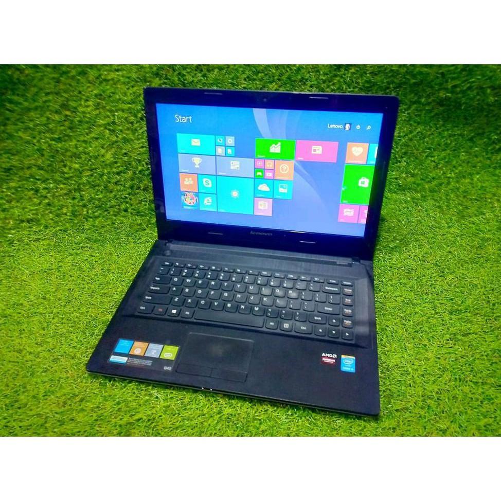 Laptop Gaming Laptop Lenovo G40 70 Terbaru Core I3 4030 Mulus No Minus Shopee Indonesia