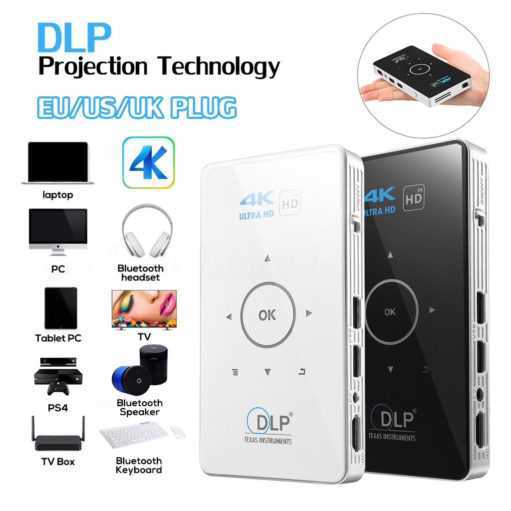 Toumei C800s Dlp Projector Smart Android Shopee Indonesia T1 Perfect Choice Bluetooth Portable Speaker Original Dengan Jam Ala Hitam
