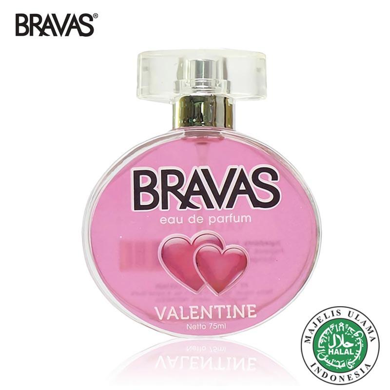 BRAVAS Perfume 75 ML Eau De Parfum Original EDP XX-CT Halal | Shopee Indonesia