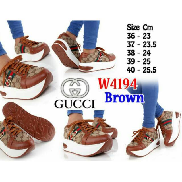 c61200f6d6049 REAL STOK Sneakers Gucci Shoes 188-A9   Shopee Indonesia