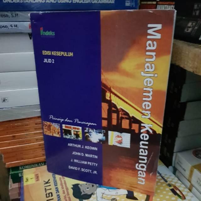 Manajemen keuangan edisi 10 jilid 1 dan jilid 2 by Arthur keown | Shopee Indonesia