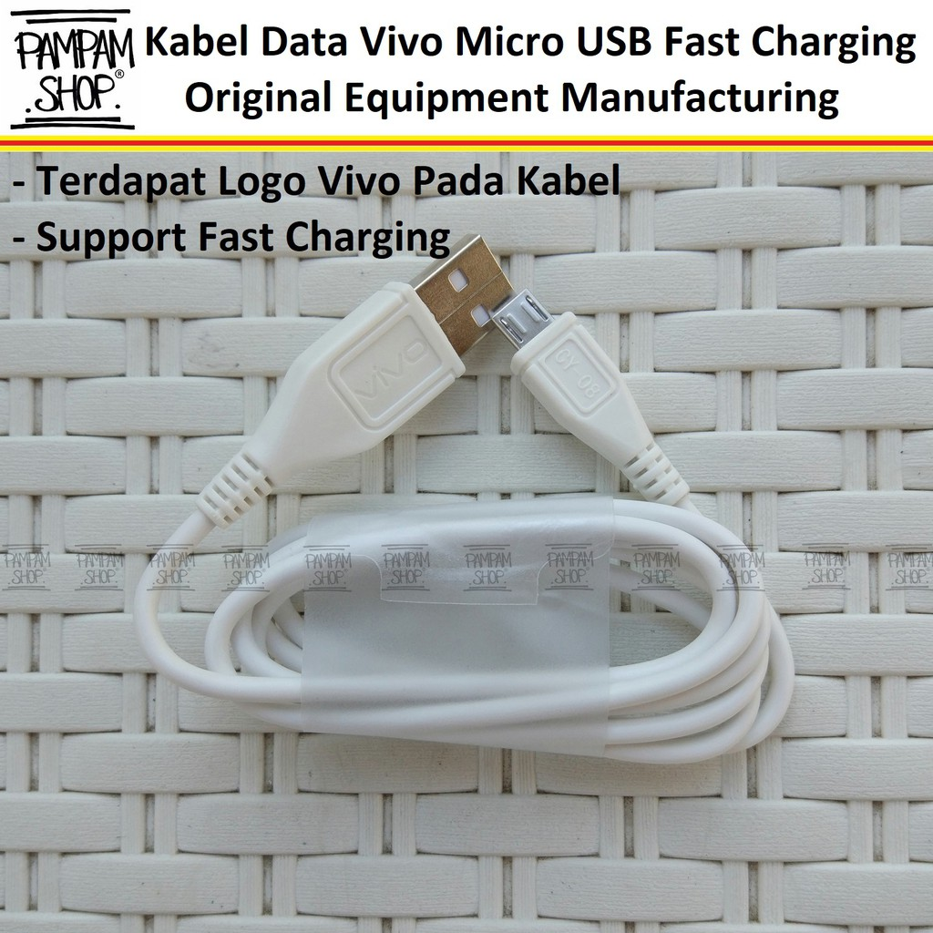 Charger Vivo V5 X7 Y53 Original Fast Charging 2A 9V Original | Shopee Indonesia