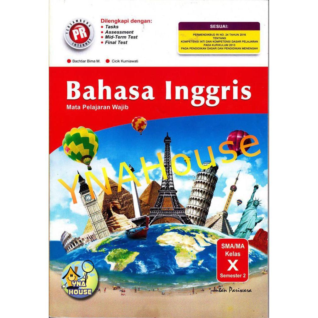 Buku Lks Pr Bahasa Inggris Sma Ma Kelas X 10 K 13 Semester 2 Tahun 2018 2019 Intan Pariwara Shopee Indonesia
